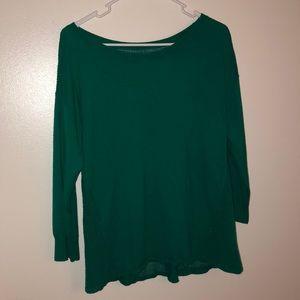 Like New Emerald Green American Eagle Shirt